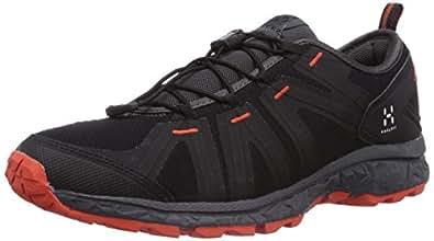 Haglöfs Hybrid II, Chaussures de Randonnée Basses homme, Noir (True Black/Magnetite), 46.6666666666667 EU