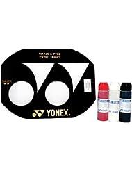 YONEX–Raqueta de tenis cuerdas plantilla (100–130cm) y Yonex–Tinta para estarcido, Yonex Red Stencil Ink