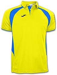 Joma - Polo champion iii amarillo-royal m/c para hombre