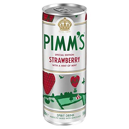Pimm & Fraise avec Lemonade 250ml