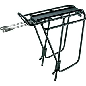 Topeak Super Tourist DX Tubular Rack with Side Bar - Black