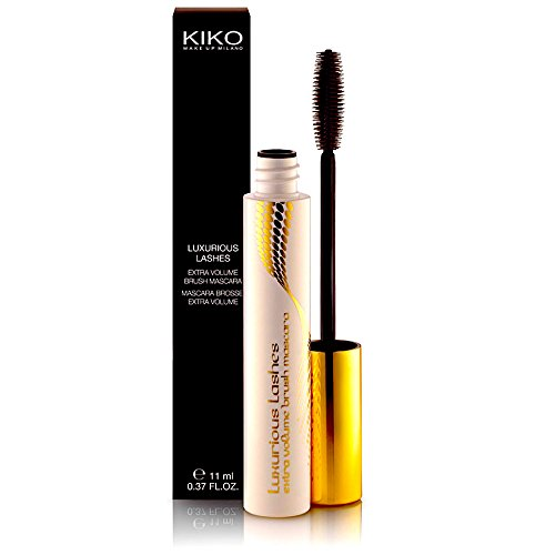 Maxi Lash (KIKO Black Mascara Luxurious Lashes Extra Volume Brush by Kiko)