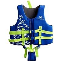 Rosenryan Chaleco de baño para niños,Chaqueta de natación para niñas Traje de baño Chaqueta de protección para Estudiantes de natación para 22-99 lbs