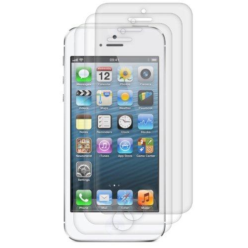 3x pellicola protettiva per display OPACA e ANTIRIFLESSO con effetto anti-impronte per Apple iPhone 5 / 5S / 5C - QUALIT� PREMIUM firmata kwmobile