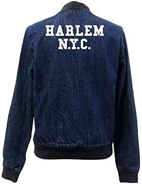 Harlem NYC Bomber Chaqueta Girls Jeans Certified Freak
