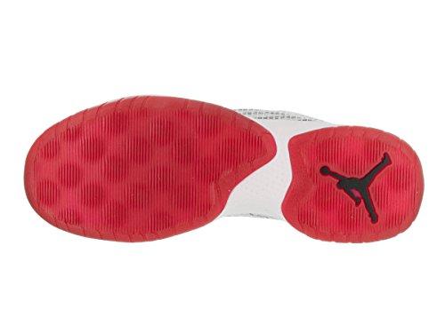 Nike Jordan B. Fly Basketballschuhe Sneaker Turnschuhe Schuhe für Herren WHITE/GYM RED-BLACK