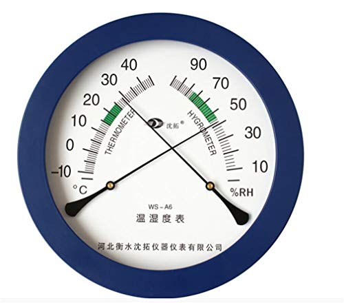 Higrometro Digital Termometro Higrometro Digital Relojes Jardin Hogar Puntero Higrómetro Bebé Interior...