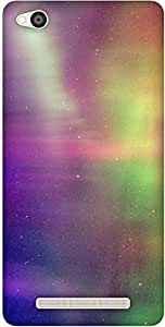 The Racoon Grip Aurora Borealis hard plastic printed back case / cover for Xiaomi Redmi 3