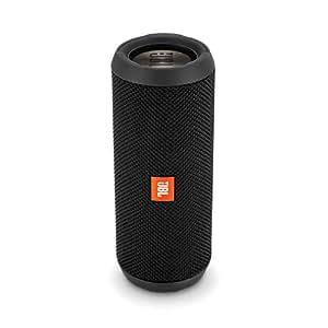 JBL Flip 3 Stealth Waterproof Portable Bluetooth Speaker (Black)