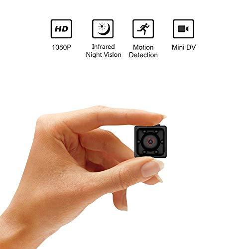 Mini Caméra Espion sans Fil, Supoggy HD 1080P Caméra sécurité avec Vision Nocturne, Détection de Mouvement pour Utiliser à la Maison, en Voiture, par Drone, au Bureau ou à l'Extérieu