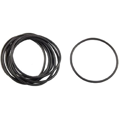 Sourcingmap a12040200ux0132 - 10 pezzi da 40 mm x 48 rondella di tenuta di tenuta anello di gomma nitrile x 4 mm o
