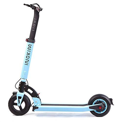 MYYDD Elektrischer Roller 36V Tretroller Zwei Räder E-Roller mit 25KM Long-Range für Erwachsene und Kinder,D