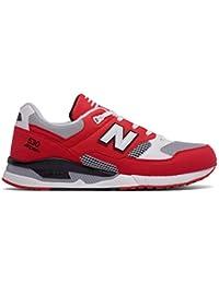 New Balance - Zapatillas para hombre rojo Bianco 43.0