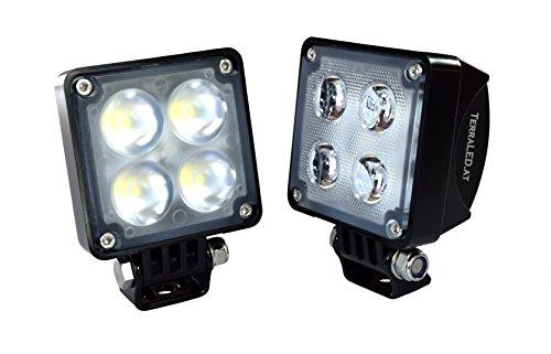Preisvergleich Produktbild LED-Scheinwerfer 20 Watt eckig Alpha-Line FLUTER