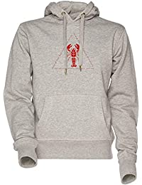 Vendax Ascend The Dominance Hierarchy Jordan Peterson Lobster Unisexo Sudadera con Capucha Gris