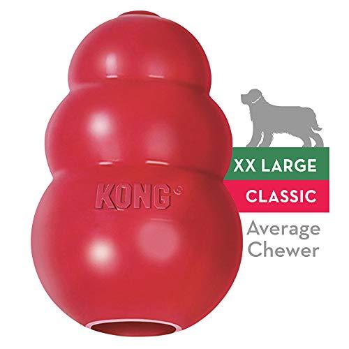KONG - Classic Gioco cani, gomma naturale resistente - Masticare, inseguire e riportare - Taglia XXL