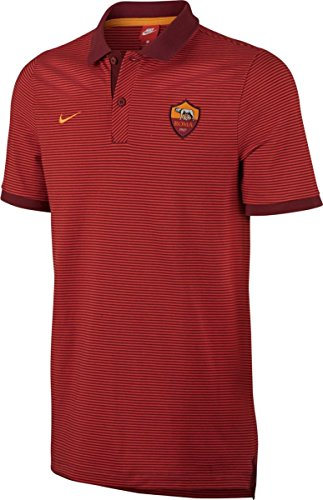 Nike M NSW GSP PQ aut Polo manches courtes inter de Milan, homme Marron