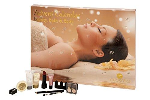 Accentra Adventskalender Bath and Body - SPA - Wellness and Beauty, 1er Pack (1 x 1 Stück)