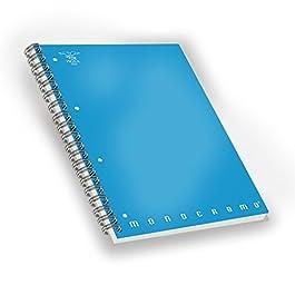 Pigna 02155551R, Quaderno Maxi Spiralato A4 con Fori e Microperforazione, Rigatura 1R, righe per medie e superiori…