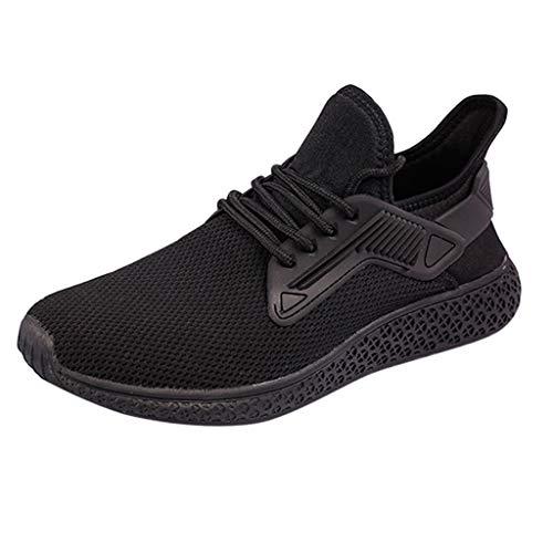 x Turnschuhe Mesh Atmungsaktive Sportschuhe Leichtgewicht Laufschuhe Leichte Bequem Trainers Schuhe Dämpfung Freizeitschuhe ()