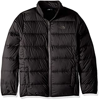 The North Face Kid's Andes Down Girl's Jacket, Black/Graphite Grey, Large