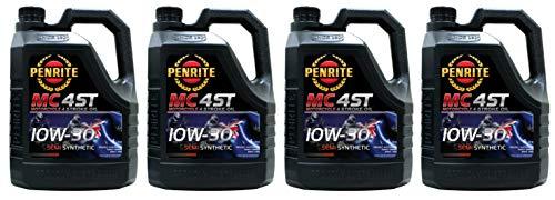 Penrite MC-4 Olio Semi Sintetico 10W-30 per Moto a 4 Tempi, 16 Lit