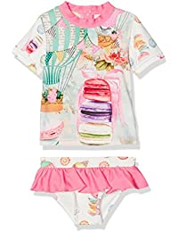 Pezzo Doro Baby-Mädchen Badebekleidungsset 2-Teiliges Badeset