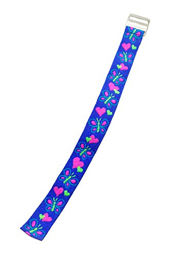 timex-youth-t89001-replacement-watch-band-hearts-and-butterflies-elastic-fabric-strap