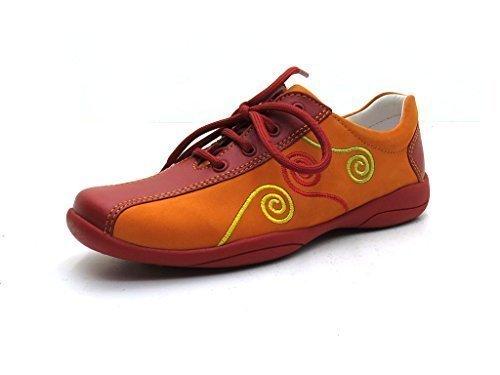 Superfit , Chaussures de ville à lacets pour fille Orange Orange Orange - Mittel