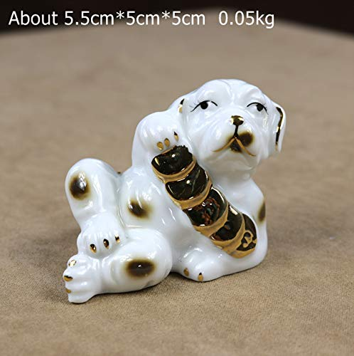 Niya Soft Hundefigur Tier Art Collection Dekor Souvenir Geschenk Bastel Ornament 5tlg
