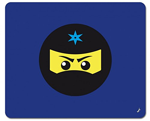 Preisvergleich Produktbild 1art1 109104 Gaming - Ninja Icon, Blau Mauspad 23 x 19 cm