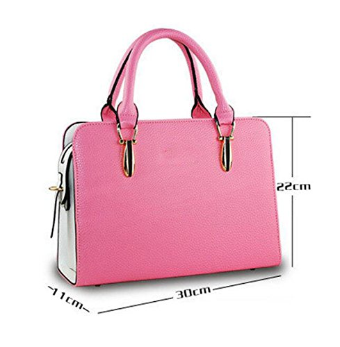 Damen-Tasche Handtasche Schulter Messenger Bag Große Kapazität Paket Red