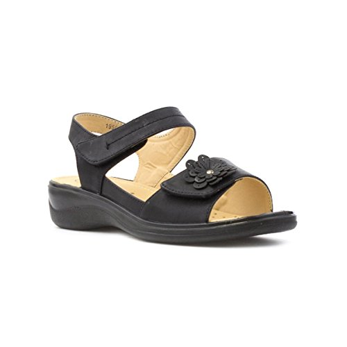 softlites-womens-black-easy-fasten-comfort-sandal-size-5-black