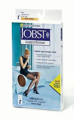 BSN Medical 119229 JOBST Ultra Sheer Compression Stocking, Knee High, 8-15 mmHG, Closed Toe, Small, Sun Bronze