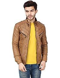 Derbenny Full Sleeve Self Design Jacket For Men