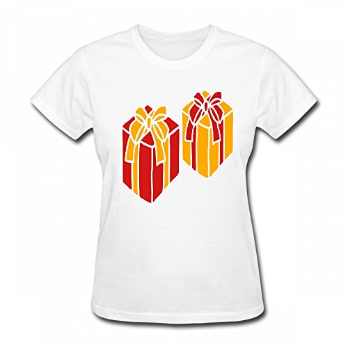 Bow Womens T-shirt (T Shirt For Women - Design Gifts With Bow Shirt)
