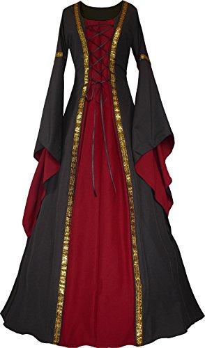 Dornbluth Damen Mittelalter Kleid Anna (36/38, ()