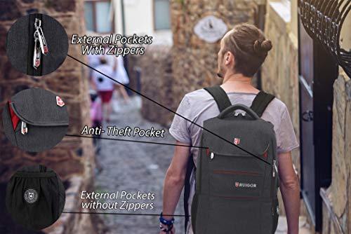 Ruigor RG6164 Camping und Wanderausrüstung, Schwarz