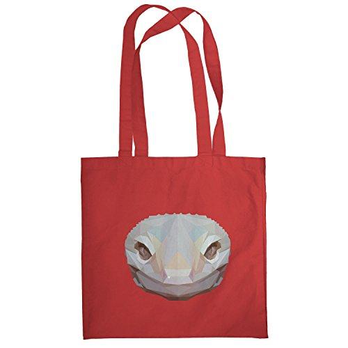 Texlab–Poly Snake–sacchetto di stoffa Rot