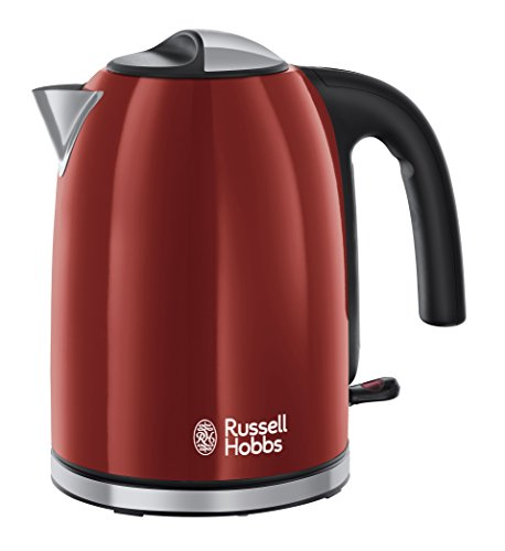 Russell Hobbs Colour Plus Kettle 20412, 3000 W, 1.7 L - Red Best Price and Cheapest