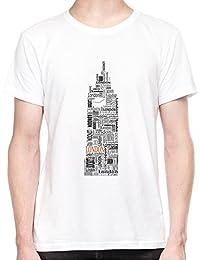London Text Big Ben Camiseta Para Hombre