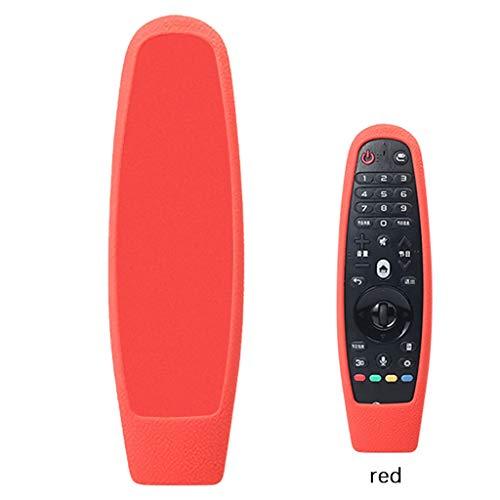 Happysdh Remote Hülle für ALG 3D Smart TV AN-MR600 Magic Fernbedienung - Leichte rutschfeste Stoßfeste Silikon Schutzhülle Tasche Case Cover