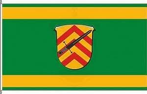 Königsbanner Hissflagge Hammersbach - 100 x 150cm - Flagge und Fahne