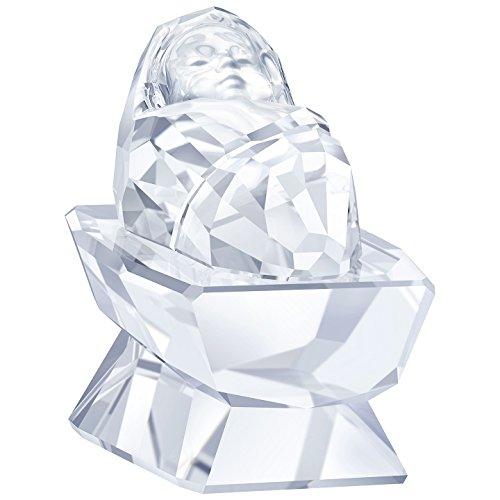 Swarovski natale presepe–gesù bambino, cristallo, trasparente, 2.8x 1.9x 3cm,