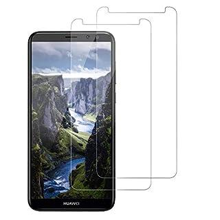 FayTun Panzerglas Schutzfolie für Huawei Mate 10 Lite, [2 Stück] Displayschutz, [9H Härte][ Anti-Kratzen][Anti Öl][HD Ultra Klar], Displayschutzfolie kompatibel mit Huawei Mate 10 Lite