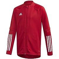 adidas Condivo 20 Training Jacket Chaqueta Entrenamiento, Niños, Team Power Red/White, 164