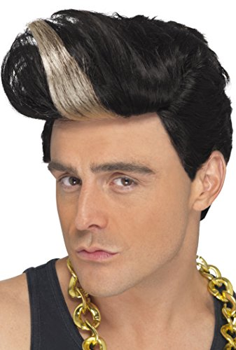 Vanilla Ice 90's Rapper Wig - Black