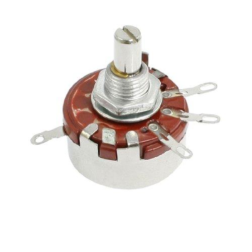 2w Single (2W 2,2K Ohm 6mm Schaft Ø Single Linear Taper Rotary Potentiometer)