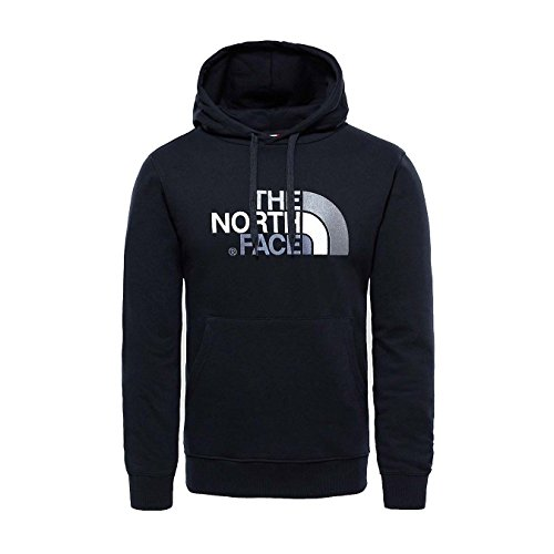 The North Face, M Drew Peak Plv Hd, Felpa con Cappuccio, Uomo, Nero (Tnf Black), XL