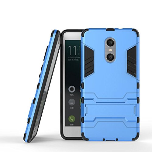 Xiaomi Hongmi Pro-Fall-Abdeckung 2 in 1 New Armour Tough Art Hybrid Dual Layer Rüstung Defender PC Hard Cases Standplatz-Abdeckung Stoß- Fall Für Xiaomi Hongmi Pro ( Color : Black , Size : Xiaomi Hong Blue